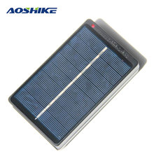 Aoshike Solar Panel Battery Charger Solar Panel China 1W 4V Charging Box Charged 2 * AA / AAA 1.2V(China)