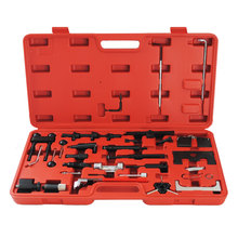 Professional 34Pcs/Set Vag Engine Timing Tool for VW/Audi/Skoda Automotive Diagnostic Tools Petrol Diesel Set