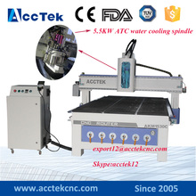 Working cnc router center 1530 auto tool change spindle CNC USB wood design machine router