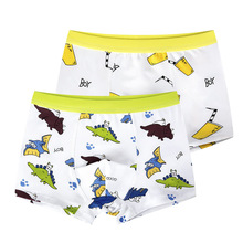 Buy 2Pcs/Lot Children's Teenager Underwear Colorful Boys Shorts Panties Soft Organic Cotton Baby Boy Stripes Kids Underwear 2-16y for $5.47 in AliExpress store