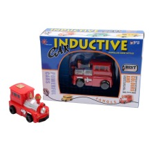 Enlighten Hot Sale 1 Piece Magic Toy Truck Inductive Car Magia Excavator Tank Construction Cars Truck Vehicles Toy
