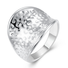 Wholesale 925 sterling silver jewelry fashion jewelry sterling silver jewelry ring Thumb circular electric ring HMJYR065