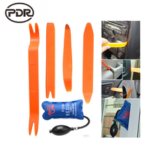Super PDR Tools Pump Wedge Lock Pick Set Open Car Door Lock Opening Tools +Car Panel Removal Tools High Quality 5 pcs/set