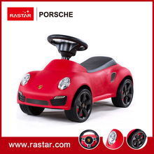 Rastar licensed car ride on car four wheels Porsche 911 turbo s foot to floor cars with horn and chassis 83400