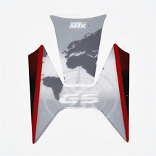 1pcs Free Shipping Carbon Fiber Tank Pad Tankpad Protector Sticker For BMW R1200GS R 1200 GS R1200 GS(China)