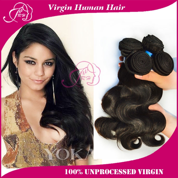 Human Hair Products Peruvian Virgin Hair Body Wave Hair Extensions 4 Bundles Human Hair weaves sale No Tangles and No Sheding<br><br>Aliexpress