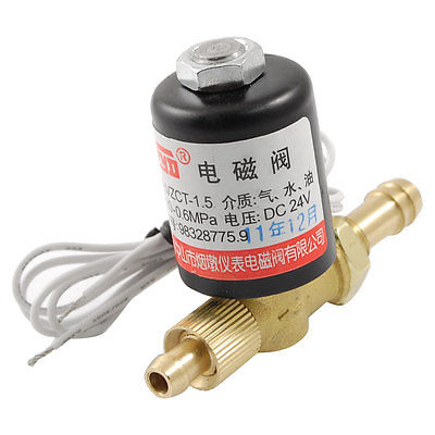 Brass Hose Connector 2 Way Welding Machine Rotatable Solenoid Valve VZ-1.5  AC 24V<br><br>Aliexpress