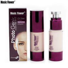Brand Music Flower New 30ML Liquid Foundation Makeup Waterproof Concealer Foundation Make Up Base Face Cream Cosmetic SPF25