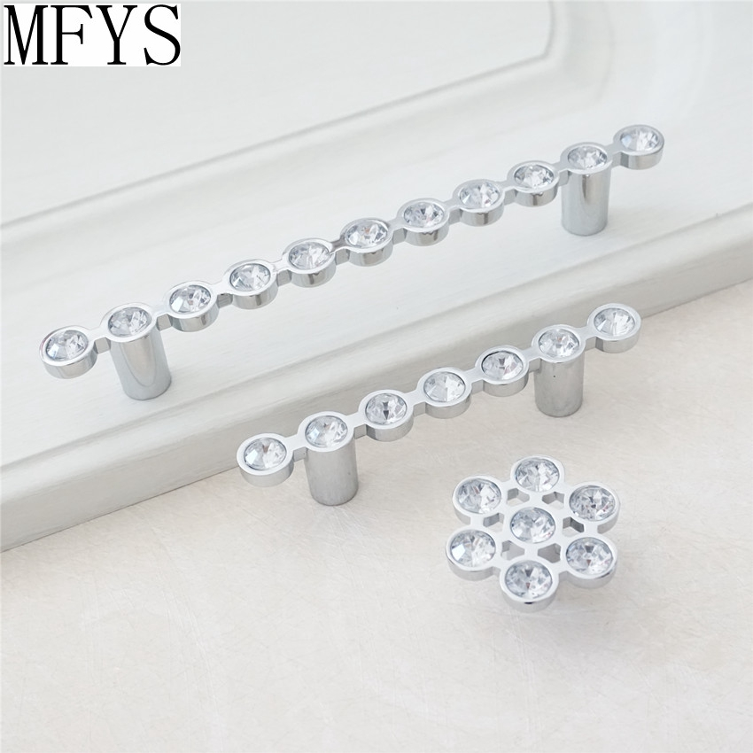 Aliexpress.com : Buy Square Rhinestone Drawer Pull / Glass Crystal ...
