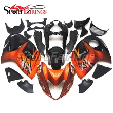 Injection Fairings For Suzuki GSXR1300 Hayabusa 08 09 10 11 12 13 14 ABS Motorcycle Full Fairing Kit Bodywork Cowling Orange Red