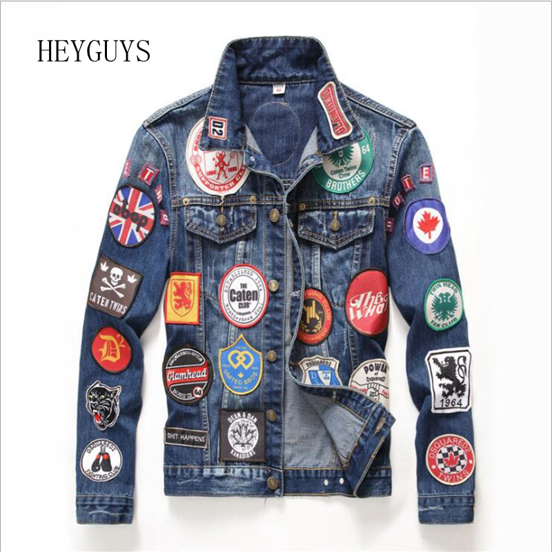 Buy embroidered denim jacket men and get free shipping on AliExpress.com a417c850eb67