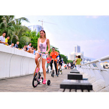 color 3 wheel healthy running road bike tricycle
