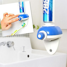2016 Newest Touch Automatic Toothpaste Dispenser Hands Free Toothpaste Squeezer Bathroom Supplies @(China)