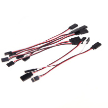 10Pcs 150mm 15cm Servo Extension Lead Wire Cable for JR Servo Part