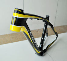 Hot MTB carbon frame bicycle accessories light carbon frame 26X17 good quality free shipping