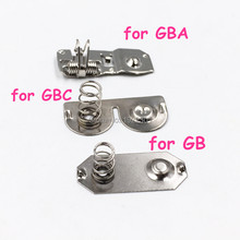 5pcs Battery Terminals Spring Contacts Battery Spring Replacement for Nintendo Game Boy Advance Game Console for GBA GBC GB DMG