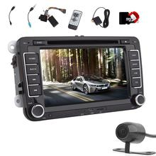 Car GPS Navigation DVD CD Player Autoradio Electronics unit for Volkswagen 7'' 2 din Car Stereo Audio Player Bluetooth/Radio