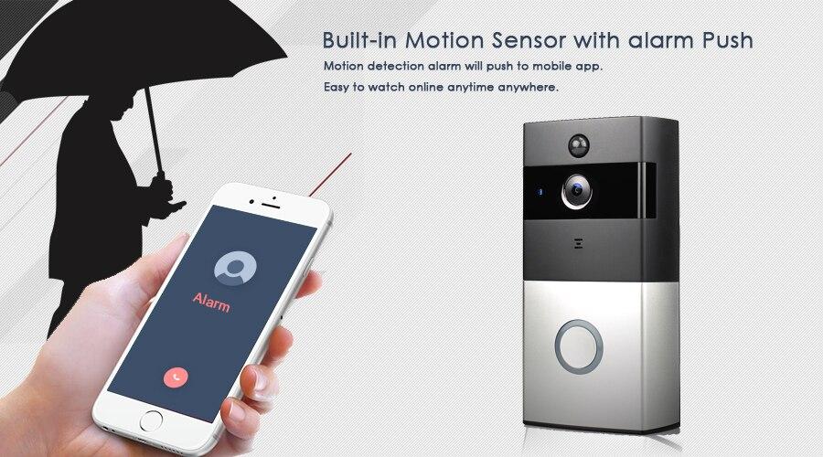 CTVMAN Wireless Video Door Phone Doorbell Camera Battery Doorphone Video Intercom System Wifi Doorbells with PIR & SD Card25