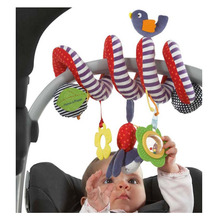 Mamas Papas Stroller Musical Multifunctional Car/bed/crib Hanging Bell Newborn Baby Educational Rattles Mobiles Toys for babies(China)