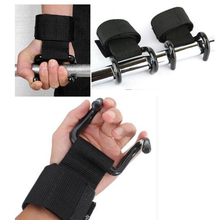 Rotatable Fitness glvoes Barbell wrist belt hook band Horizontal hands claw Pull up belt Sport gym gloves weight lifting belt