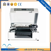 High quality direct image printing machine price metal ,wood ,candle with embossed effect
