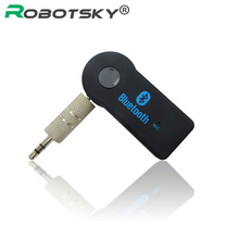 Universal 3.5mm Car Bluetooth Audio Music Receiver Adapter Auto AUX Streaming A2DP Kit for Speaker Headphone(China)