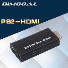 2017 Newest High Quality Mini for PS2 to HDMI Video Converter Adapter with 3.5mm Audio Output for HDTV(China)