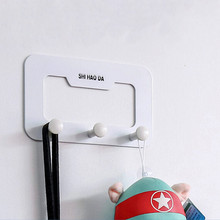 Best Promotion Coat Hat Holder Clothes Rack Home Kitchen Bathroom Door Wall Hanger Hooks Stainless Gancho De Parede(China)