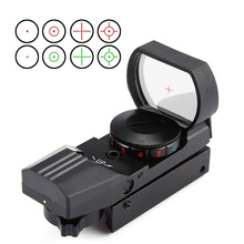Red Dot Scope 11mm / 20mm Dovetail Riflescope Reflex Optics Sight For Hunting Rifle Gun Airsoft Tactical Sniper