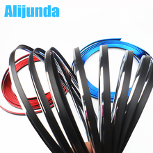 5 m Car Grille Inner Outer Profiles Trim Decorative Ribbon Line for Acura RLX CL EL CSX ILX MDX NSX RDX RL SLX TL TSX Vigor ZDX