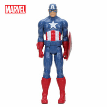 Hasbro Marvel's The Avenger 30CM Super Hero Thor Captain America Wolverine Spider Man Iron Man PVC Action Figure Toy Dolls(China)