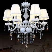 Lustre Modern Led Crystal Chandelier Lighting Ceiling Chandeliers Lampadario Light Candelabro Hanglamp Lamparas Luminaire Lampen(China)