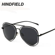 Fashion Black Aviator Sunglasses Women Luxury Brand Designer Shades Female Pink Driving Mirror Eyewear Pilots Sun Glasses