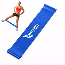 Tension Resistance Band Exercise Loop Blue Crossfit Weight Training Fitness Unisex 0.7mm Sport Equipment