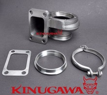 Kinugawa Turbo Turbine Housing Kit AR73 10cm T3 V-Band for Garrett GT3582R GT35R GT3540 Ball Bearing(China)