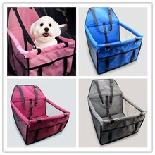 Foldable Pet Dog Car Seat Cover for Rear Bench Seat Waterproof Hammock Style Outdoor Car Seat Cover for Dogs solid color