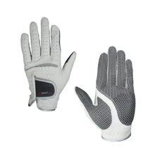 Free Shipping High quality Golf Gloves with Excellent Permeability and Anti-skid Design Leather Golf glove One pair(China)