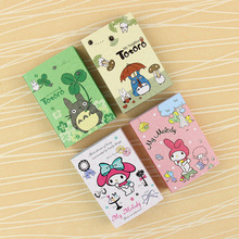 1PC Cute 6 Folding N Times Stickers Melody Totoro Memo Pads Stationery Office School Supplies