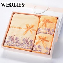 Face Bath Towel Set Superfine Fiber Lace For Adult Bathroom Towel with Gift Box Toalhas De Banho Beach Towel Home Textile