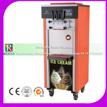 Commercial led display table top soft serve ice cream small machine in germany