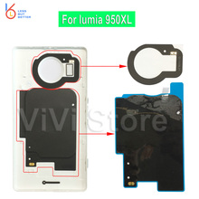 For Microsoft lumia 950XL Back Cover Case NFC Chip + Qi Wireless Charging Receiver Repair Part for Nokia 950XL