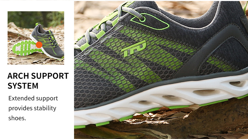 TFO Outdoor Running Shoes For Man Summer Light Weight Mesh Breathable Sneakers Lovers Outdoor Sport Shoes Lace-Up 851708 9