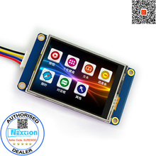 "2.4"" English Version Nextion Basic HMI Intelligent Smart USART UART Serial Touch TFT LCD Module Display Panel for Arduino(China)"