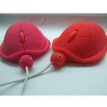 Novelty Candy Color Turtle Shaped PC Laptop USB 2.0 1200dpi 3D Wired Optical Cute Turtle Mice Mouse Gaming Mouse(China)