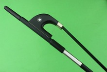 1pc Professional black Horse hair Carbon fiber Double Bass bow 3/4 size.