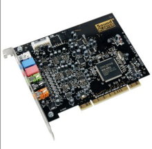 free shipping New Creative 7.1 Audigy 4 II  PCI Sound Card Desktop Built-in Karaoke hot pci sound card