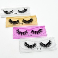 Visofree Mink Eyelashes 3D Mink Lashes Thick Crisscross Winged Eyelashes Cruelty Free Mink cilios posticos Full Strip Lashes(China)