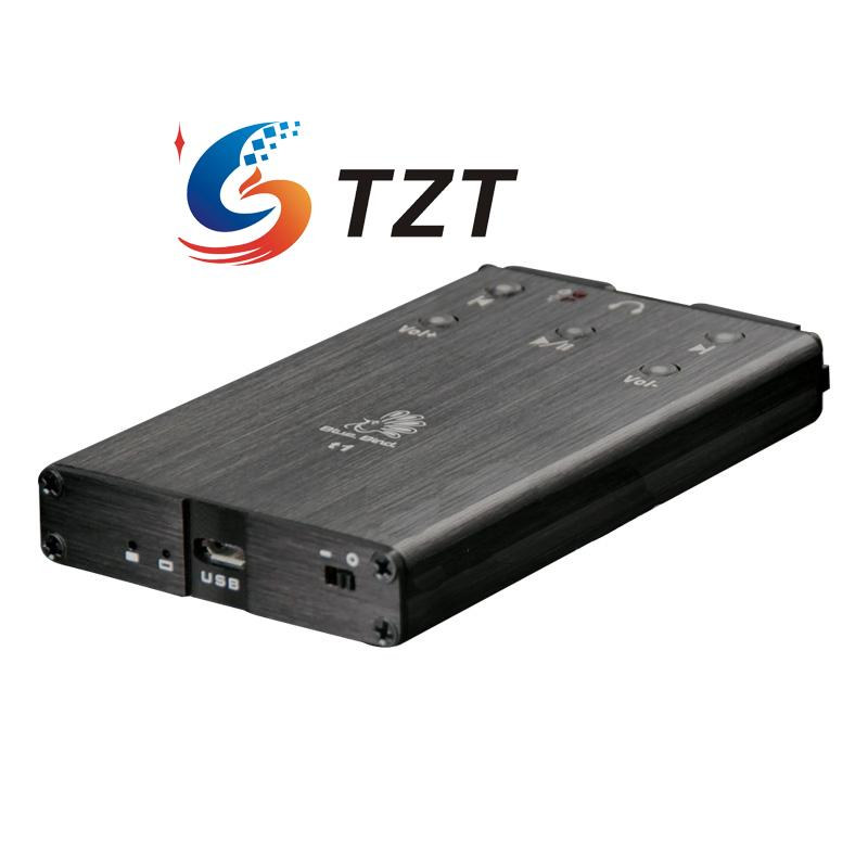 T1 Portable Headphone Decoder Amplifier OTG PCM2706 Android Phone External Audio DAC PC Card