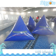 Sea Shipping Triangle Cheap Price Interactive Game Inflatable Laser Tag Bunker(China)