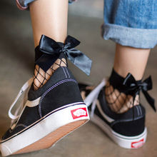 New Fashion Women Ruffle Fishnet Ankle High Socks Mesh Lace Fish Net Short Socks Beautiful Soft Socks